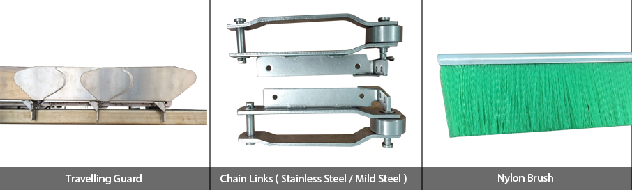 Stainless Steel Apron Dryers