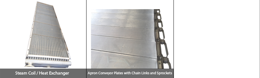 Industrial food drying equipment